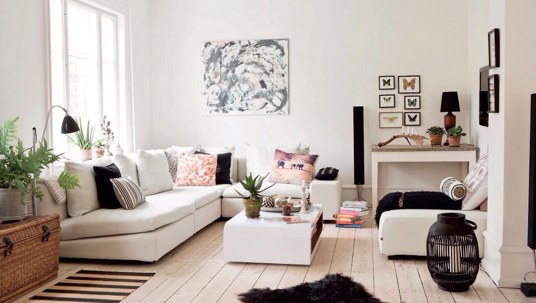 El estilo n rdico bohemio nordisk boheme la casa de freja - Casa estilo nordico ...